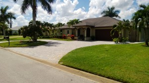 Lawn mowed in Naples, FL